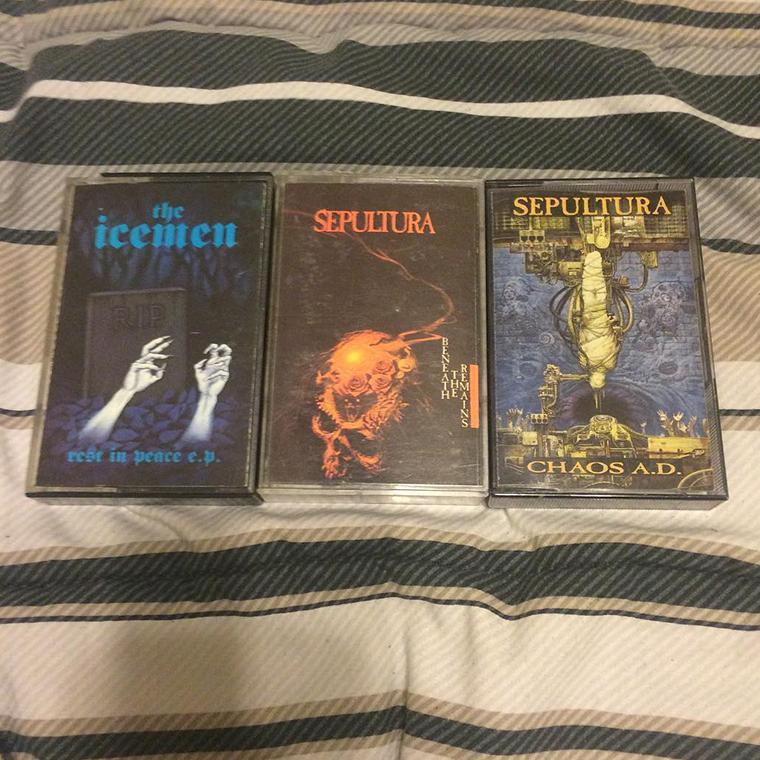 Sepultura_Cassettes